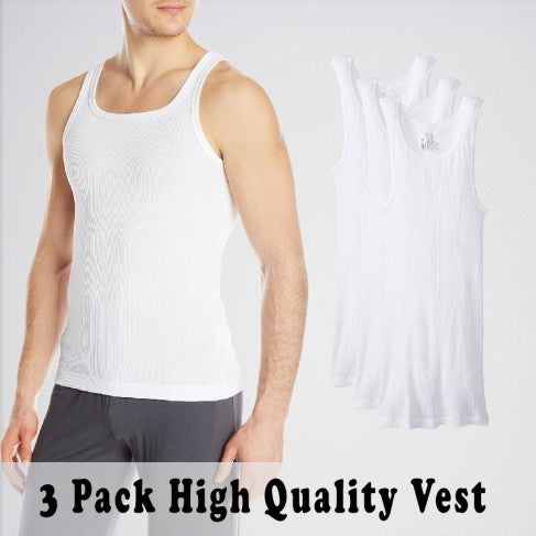 Men's Pack Of 5 Inner Vests. SD-365