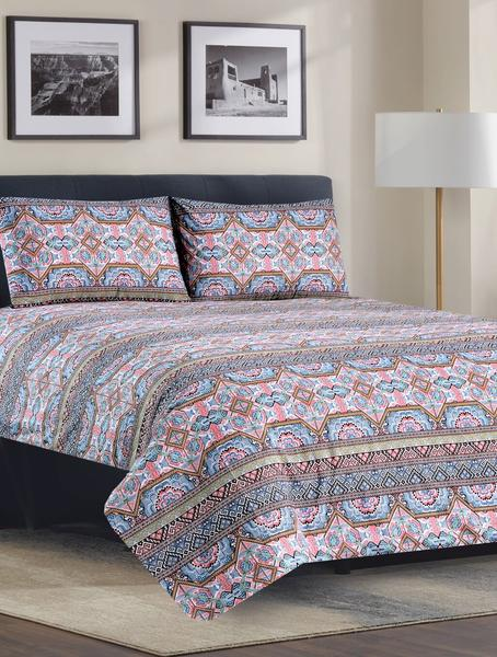 Khas Stores Tribal Obsession Bed Sheet King-1000000022407