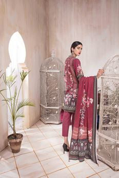 Khas 3 Piece Unstitched Winter Collection Khaddar Gatsby Legend KKH-14008