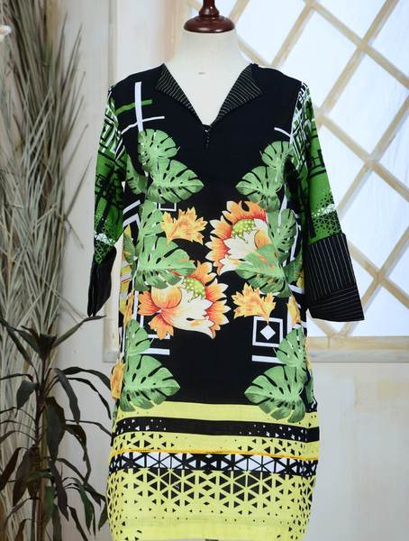 Khas Stitched Khaddar 1 PCS Women Shirt DR-152