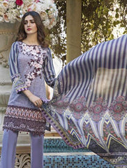 Khas Summer 3 PCS Unstitch Lawn KSE-8014