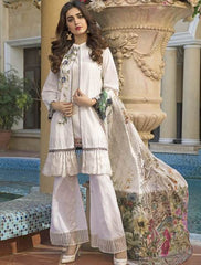 Khas Summer 3 PCS Unstitch Lawn KSE-8015