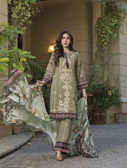 Khas Summer 3 PCS Unstitch Lawn KSE-8016