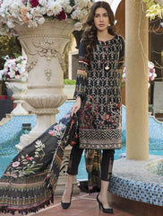 Khas Summer 3 PCS Unstitch Lawn KSE-8018