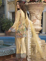 Khas Summer 3 PCS Unstitch Lawn KNE-7005