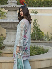 Khas Summer 3 PCS Unstitch Lawn KNE-7006