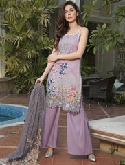 Khas Summer 3 PCS Unstitch Lawn KNE-7007