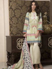 Khas Summer 3 PCS Unstitch Lawn KLA-9033
