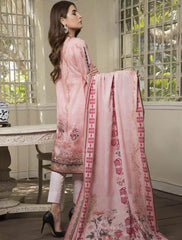Khas Summer 3 PCS Unstitch Lawn KLA-9037