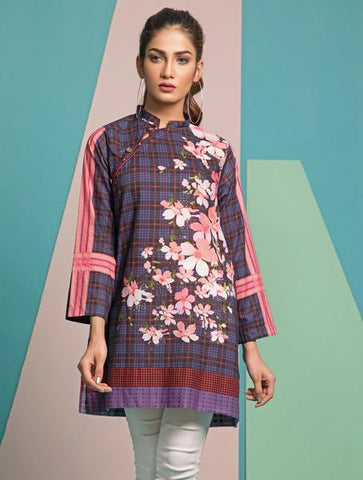 Khas Stitched Intermix Collection Kurti DR-210