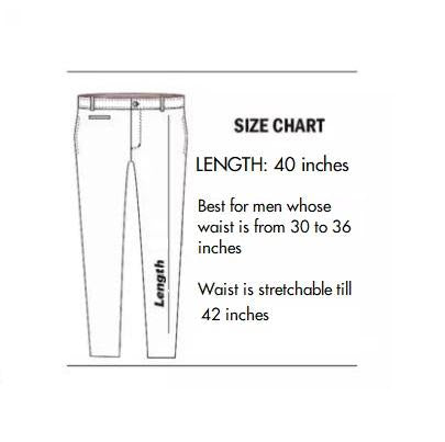 Cotton Trouser Casual Wear Black Color With Side Stripe Design for Men