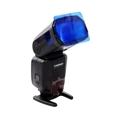 Color Card Gel Filter Flash Lighting Diffuser For Dslr Cameras & Studio Lights