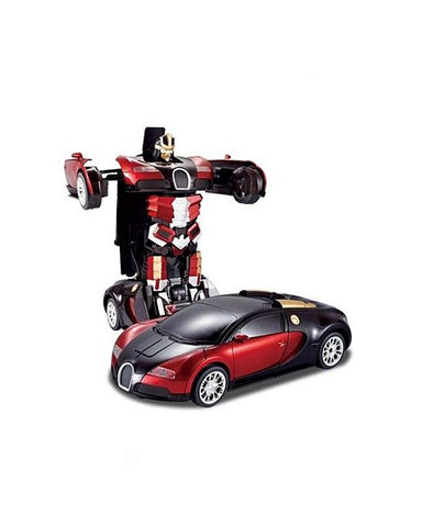 Rc Transformer Car - Red & Black