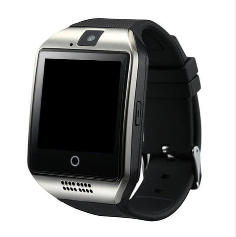 Q18 Passometer Smart Watch With Touch Screen Camera Tf Card Bluetooth Smartwatch – Silver