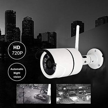 Ip Wirless V380 Bullet Camera Water Proof Night Vison With Sd Slot Model 8110