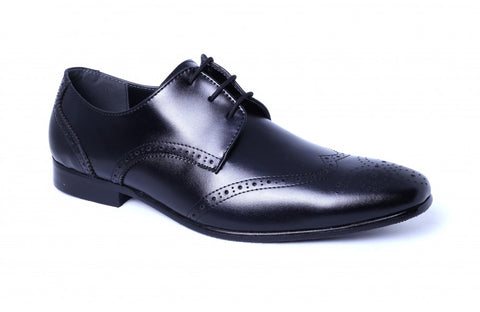 LOGO Formal Leather Shoes 1481 BKA