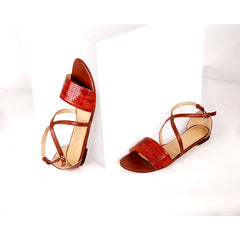 Synthetic Brown Heels For Women