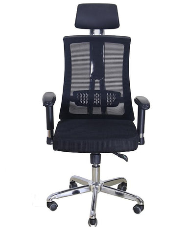 Office Imported Revolving Trium Executive Chair  - Black