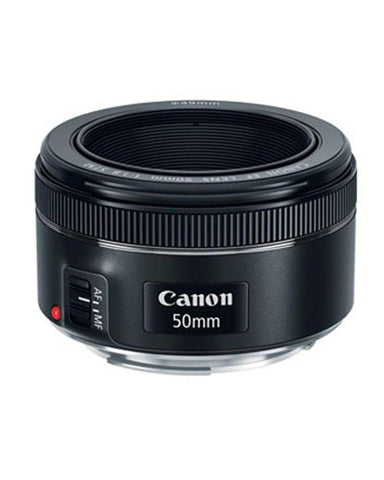 CANON Lens EF 50mm - f/1.8 - STM - Black