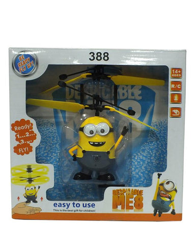 Flying Minion Induction Toy With Lights For Kids