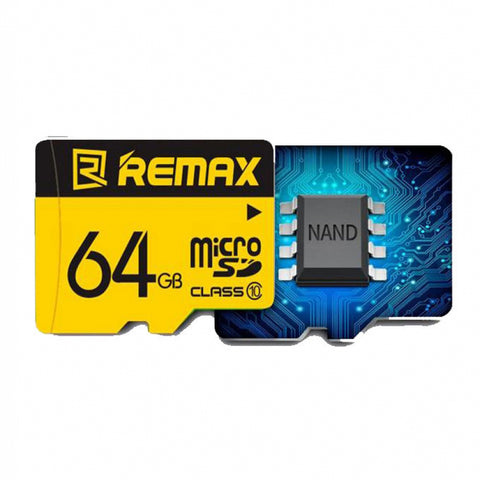 Remax C-Series Micro SD 64GB Memory Card C10(3.0)