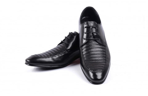 LOGO Men Formal Leather Shoes 1942 BKA