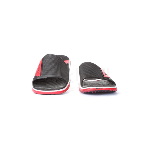 PV-8124 Men Black Slippers