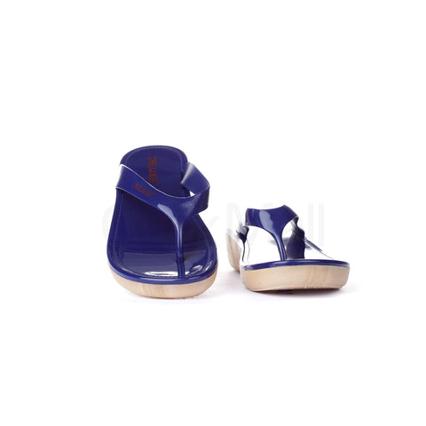 PV-5122 Women Blue Slippers Size-36
