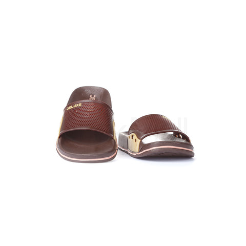 EVA-2527 Boys Brown Slippers - 12