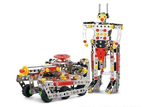 Lightahead Assembly Metal Deformation Robot Kits Toy (292 pcs) metal blocks