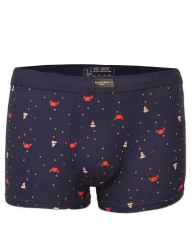 Pack of 2 Modal Fabric Spandex Boxer for Men - Dotted UG-355-L