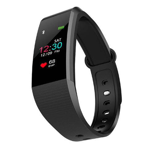 I9 0.96 Inch Color Screen Blood Pressure Heart Rate Monitor Smart Watch