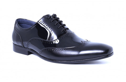 LOGO Formal Leather Shoes 2272 BKA