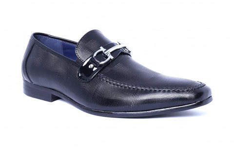LOGO Formal Leather Shoes 2277 BKP