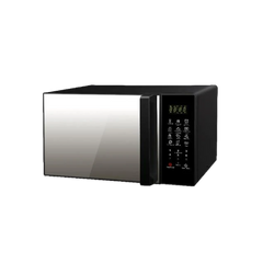 23 Ltr Burger Microwave Oven Grill Black
