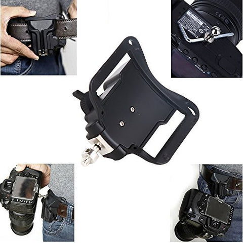 Prost Fast Loading Camera Hard Plastic Holster for DSLR Cameras