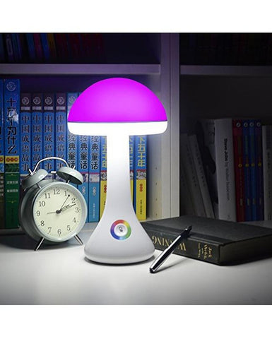 Lovely Mushroom Atmosphere LED Desk Lamp with 256 Color