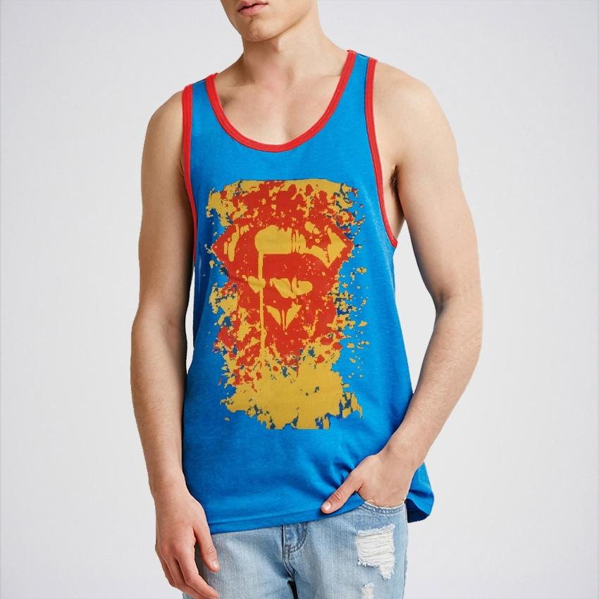 Pack of 3 Super Hero Gyming Tank Top for Boys Tp-Aj125
