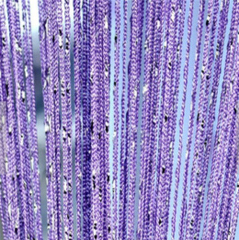 Beautiful Bead Curtain Purple