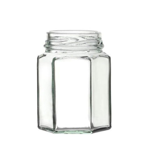 Pack of 2 Glass Jars