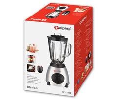 Alpina Glass Jar Blender + Grinder SF-1012