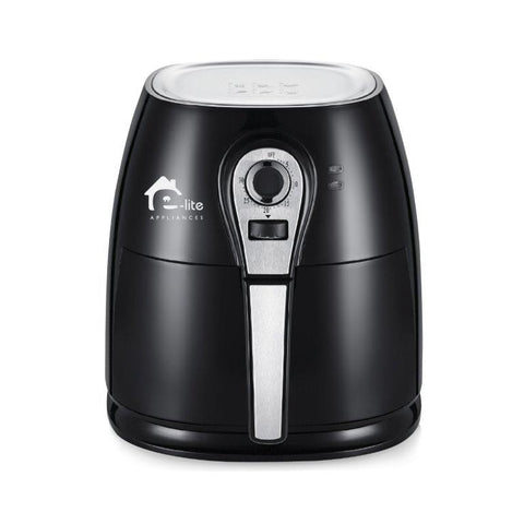 E-Lite Air Fryer Black - ELAF 05