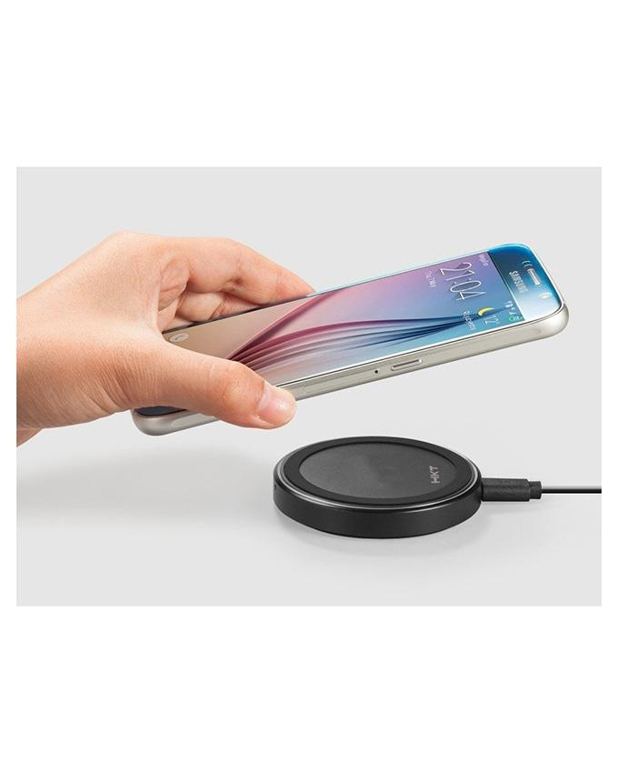 HKT Wireless Charger For Samsung S9 - Black