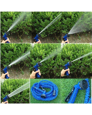 50ft - Expandable & Flexible Water Pipe For Garden & Car wash