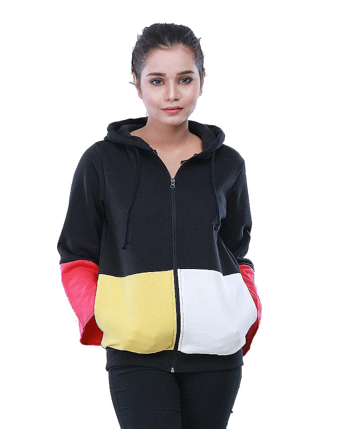 4 PANEL HOODIE FOR GIRLS