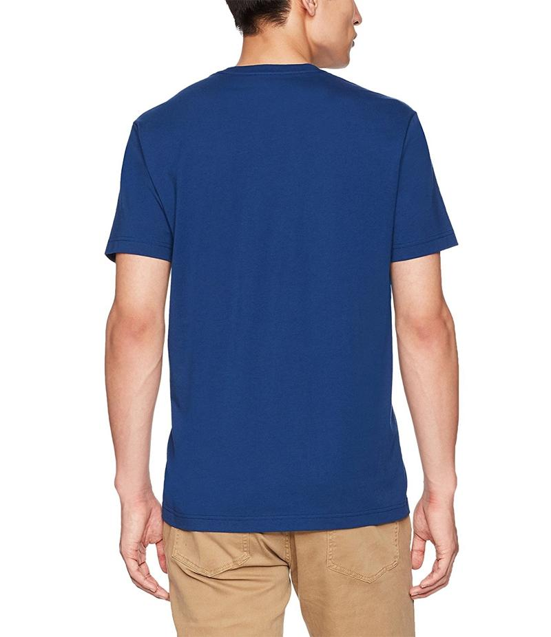 Royal Blue Play It Loud Digital Printed T-Shirt For Men