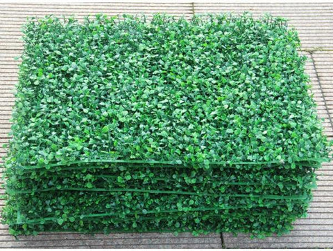 artificial plastic grass mat home decoration arrangement grass mat boxwood crafting topiary faux grass 17 x 25 inches