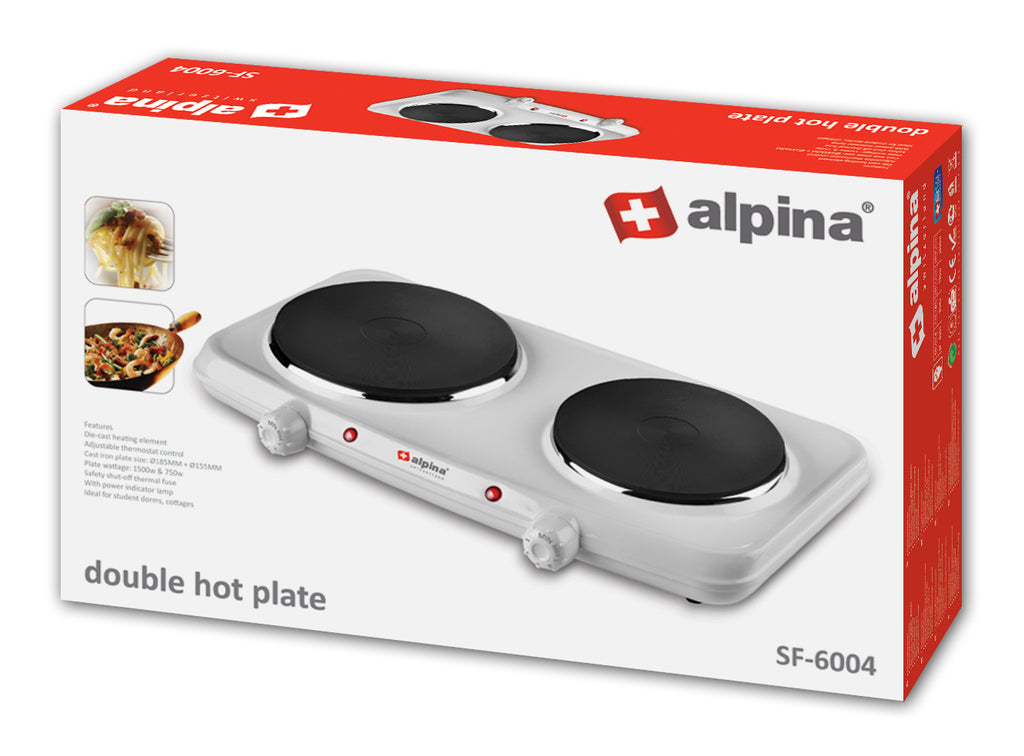Alpina Double Hot plate SF-6004
