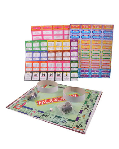 Small Size Monopoly Property Learning Game for Kids (14x9 Inch Packaging) SP-274