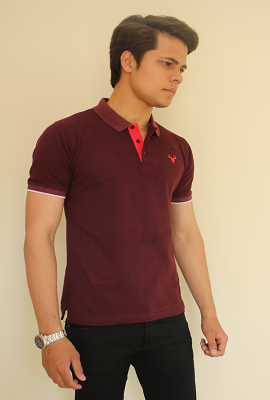 Mens T-Shirt Polo - PP04